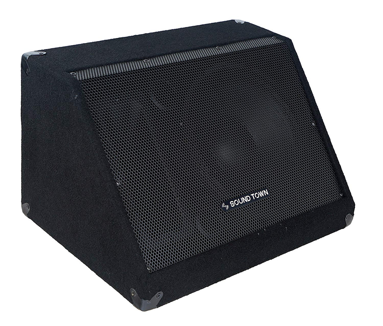 "METIS-12M-PAIR<br/>METIS Series 2-Pack 12"" 500W Passive DJ PA Stage Floor Monitor Speakers with Compression Driver for Live Sound, Bar, Church"