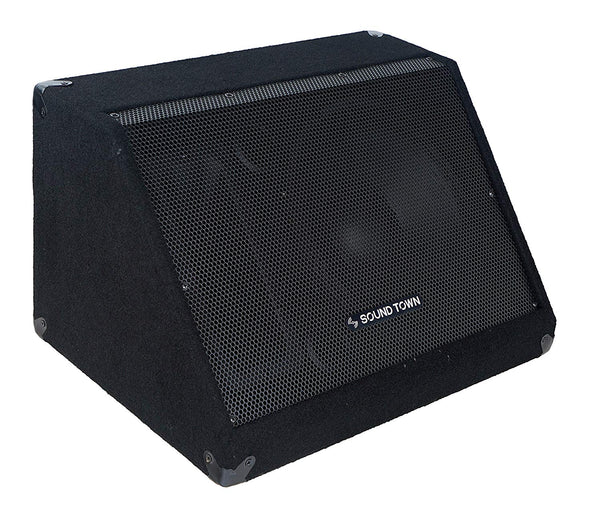 "METIS-12M <br/> METIS Series 12"" 500W Passive DJ PA Stage Floor Monitor Pro Audio Speaker w/ Compression Driver for Live Sound, Karaoke, Bar, Church"