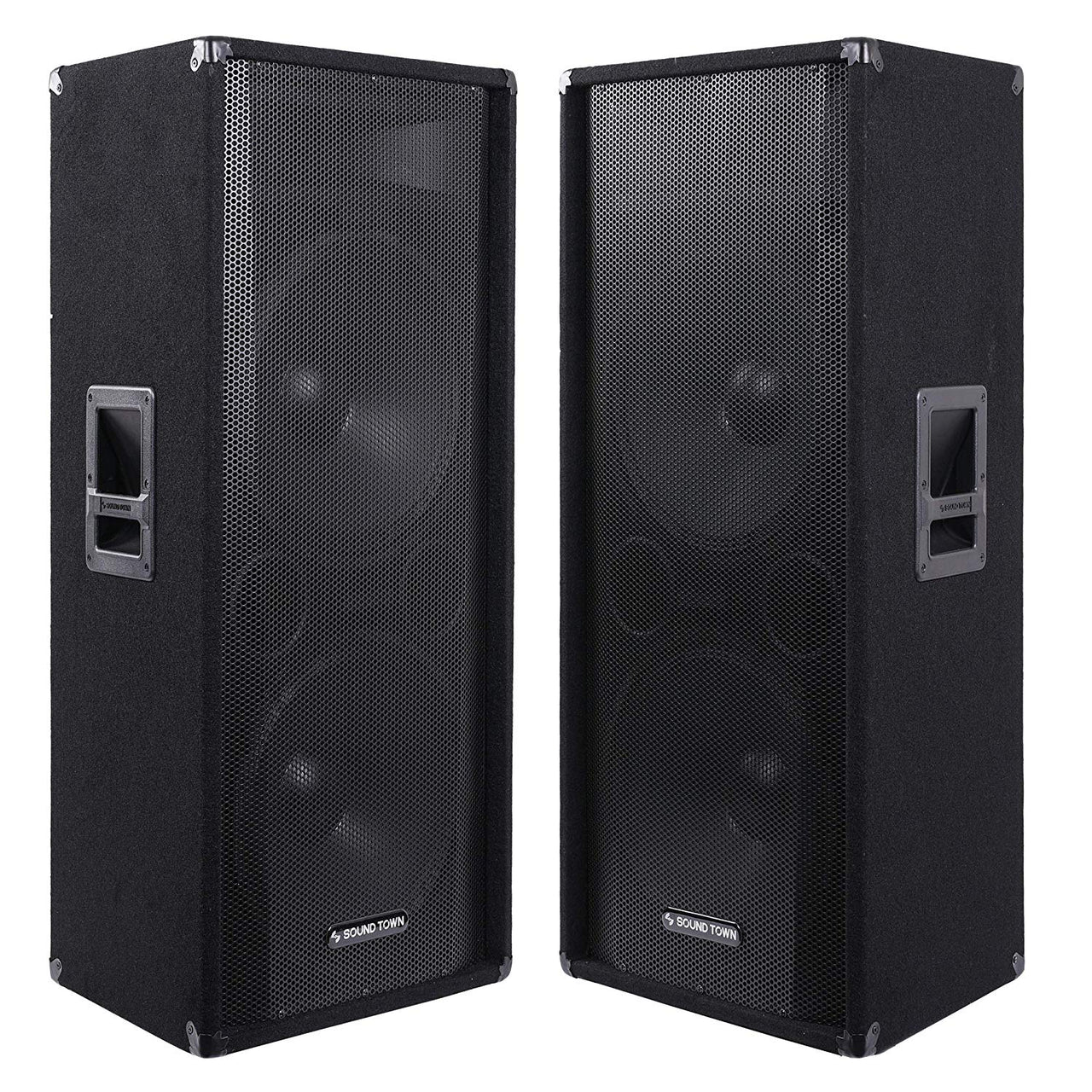 "CALLISTO-215-PAIR <br/> CALLISTO Series 2-Pack Dual 15"" Full-range 2-Way Passive DJ PA Pro Audio Speaker for Live Sound, Bar, Church"