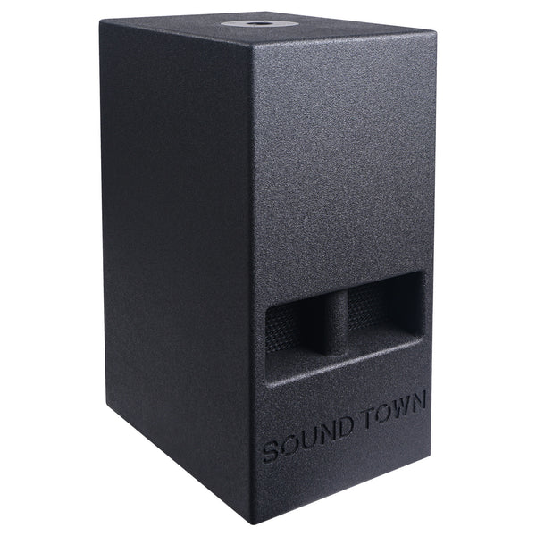 "CARME Series 10"" 600W Passive PA/DJ Subwoofer with Folded Horn Design, Black (CARME-110S)"