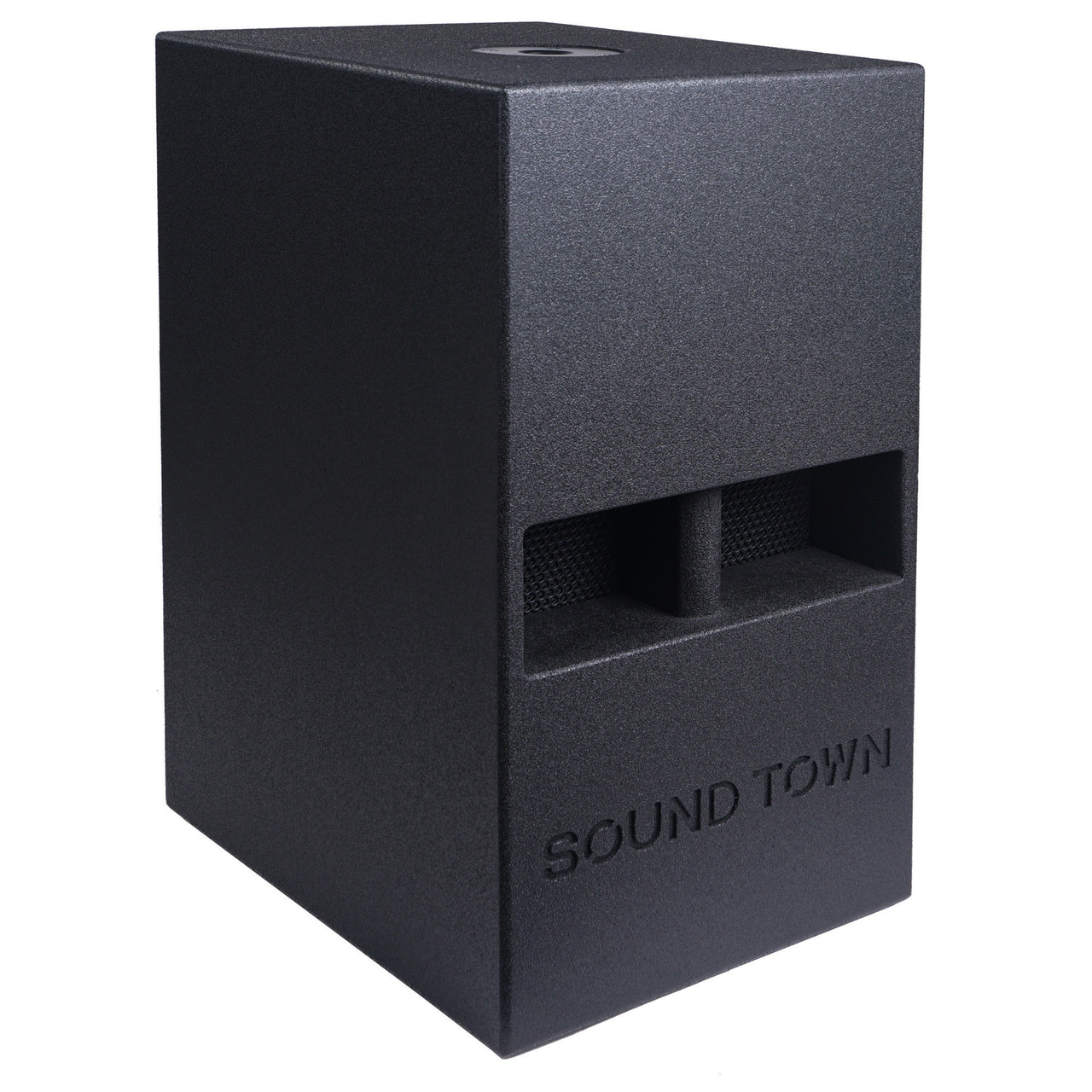 "CARME-112S<br/>CARME Series 12"" 700W Passive PA/DJ Subwoofer with Folded Horn Design, Black"