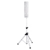 "Sound Town CARPO-V4W CARPO Series 500W Passive Mini Line Array Column Speaker System with 4 X 4"" Column Speakers, White with Speaker Stand"
