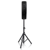 Sound Town CARPO-V4 CARPO Series 500W Passive Column Speakers Mini Line Array System w/ 4 X 4 inch Column Speakers on Speaker Stand