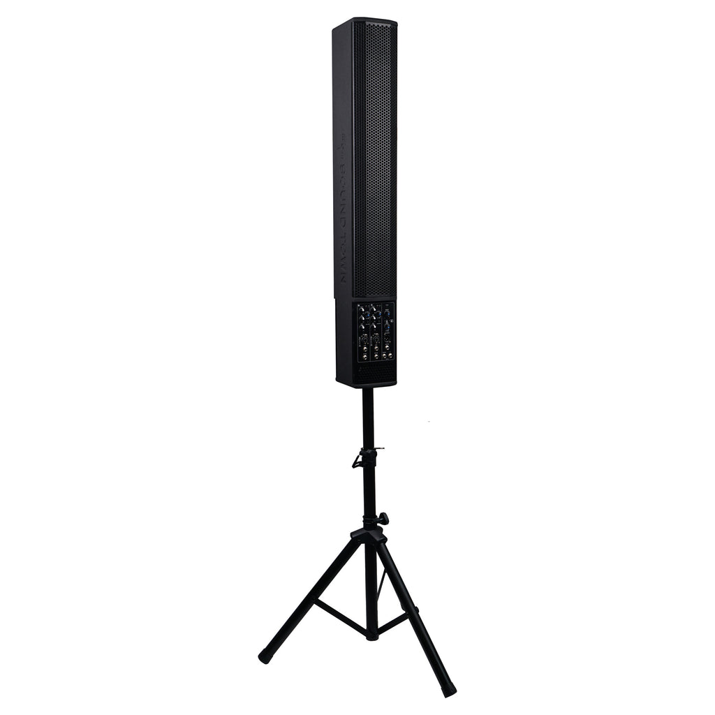 Sound Town CARPO-V5PW CARPO Series 700W Powered Column Speaker Line Array System - with Stand