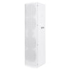 "Sound Town CARPO-V5W15 Passive Wall-Mount Column Mini Line Array Speakers with 4 x 5"" Woofers, White for Live Event, Church, Conference, Lounge, Commercial Audio Installation - Left Panel"