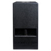"Sound Town KALE-208BCE CARME Series 10"" 600W Powered PA/DJ Subwoofer with Folded Horn Design, Black - Front Panel"