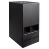 "Sound Town KALE-208BCE CARME Series 10"" 600W Powered PA/DJ Subwoofer with Folded Horn Design, Black - Right Panel"