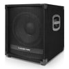 "Sound Town METIS-12SPW METIS Series 1400 Watts 12"" Powered PA DJ Subwoofer with 3"" Voice Coil - Left Panel"