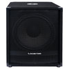 "Sound Town METIS-15SDPW-PAIR Pair of 15"" 3600 Watts Powered PA DJ Subwoofers with Class-D Amplifier, 4-inch Voice Coil - Front Panel with Anti-Corrosion Steel Grill"