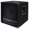 "Sound Town METIS-15SDPW METIS Series 1800 Watts 15"" Powered PA DJ Subwoofer with Class-D Amplifier, 4-inch Voice Coil - Left Panel"