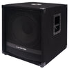 "Sound Town METIS-15SPW2.1-PAIR METIS Series 15"" 1600W Powered Subwoofers with Speaker Outputs, DJ PA Pro Audio Sub with 4-inch Voice Coil - Left Side Panel with Mounting Socket on Top"