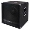 Sound Town METIS-18SDPW METIS Series 2400 Watts 18 Powered PA DJ Subwoofer with Class-D Amplifier, 4-inch Voice Coil - Left Panel