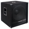 Sound Town METIS-18SDPW METIS Series 2400 Watts 18 Powered PA DJ Subwoofer with Class-D Amplifier, 4-inch Voice Coil - Right Panel