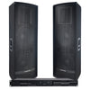 "METIS-215UPDM Sound Town Professional PA System with Two Dual 15"" Passive PA Speakers and One 2-Channel UPDM Power Amplifier for Live Sound, Karaoke, Bar, Church"