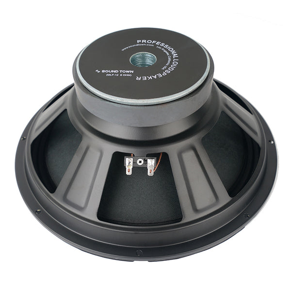 "Sound Town 12"" Raw Woofer Speaker, 250 Watts Pro Audio PA DJ Replacement Low Frequency Driver (MLF-12)"