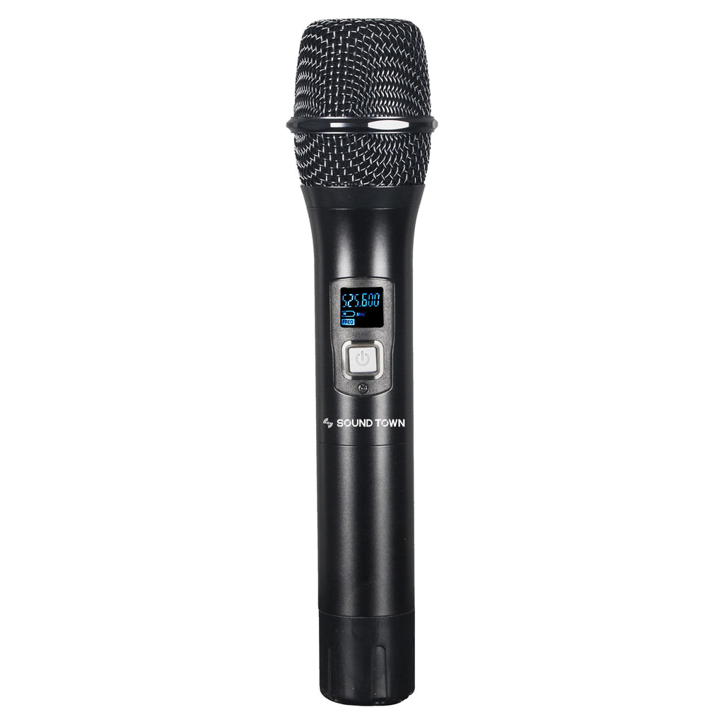 Sound Town Handheld Microphone Replacement  for NESO-SU Series Wireless Microphone Systems, compatible with NESO-SU2HH, NESO-SU4HH, NESO-SU2 Series, NESO-SU4 Series (NESO-SHH)