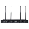 Sound Town NESO-SU4 Series, NESO Series, Wireless Microphone Receiver System Back Panel