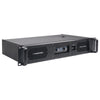Sound Town NIX-26PRO Dual-Channel, 2 x 1800W at 4-ohm Power Amplifier - rugged, heavy duty metal 2U rack mount chassis