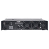 NIX-26PRO Dual-Channel, 2 x 1800W at 4-ohm Rack Mountable Power Amplifier - back panel, input and outputs, XLR, SPEAKON, Efficient dual DC fans