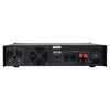 NIX-4000IB Professional Dual-Channel, 2 x 1000W at 4-ohm, 4000W Peak Output Power Amplifier - Back Panel