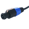 "Speakon to 1/4"" Speaker Cable, 50 Feet, 12 Gauge, 2 Conductor, Male to Male (STC-12NJ50)"