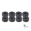 Sound Town ST-RHW-05 8-pack Replacement Rubber Feet/Bumpers with Matching Screws, Heavy-Duty, Non Slip, for Flight Case, Speaker Cabinet, Amplifier and Subwoofer