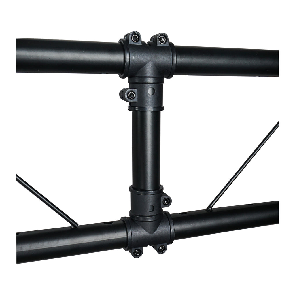 Sound Town STLS-001 Lighting Stand with Truss, Portable Lighting Truss System with T-Bars - Pole