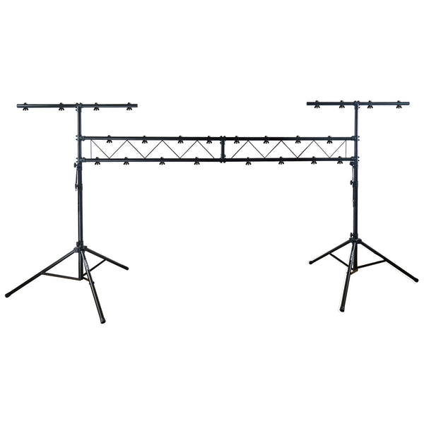 Sound Town STLS-001 Lighting Stand with Truss, Portable Lighting Truss System with T-Bars - Main