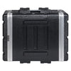 "Sound Town STRC-A4U Lightweight and Compact 4U (4 Space) PA DJ ABS Rack/Road Case, 19"" Depth and Heavy-Duty Latches 3"