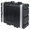 "Sound Town STRC-A4U Lightweight and Compact 4U (4 Space) PA DJ ABS Rack/Road Case, 19"" Depth and Heavy-Duty Latches 4"