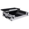 Sound Town STRC-SRLT DJ Controller Road Case with Sliding Platform, Wheels and Rubber Handles - EVA Foam