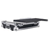 Sound Town STRC-SRLT DJ Controller Road Case with Sliding Platform, Wheels and Rubber Handles - Laptop Platform