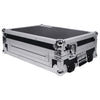 Sound Town STRC-SRLT DJ Controller Road Case with Sliding Platform, Wheels and Rubber Handles - Left Panel