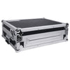 Sound Town STRC-SRLT DJ Controller Road Case with Sliding Platform, Wheels and Rubber Handles - Right Panel