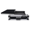 Sound Town STRC-SRLT DJ Controller Road Case with Sliding Platform, Wheels and Rubber Handles - Sliding Platform
