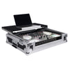 Sound Town STRC-SRLT DJ Controller System Road Case - Glide Style with Wheels