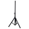 Sound Town STSD-48B Universal Tripod Speaker Stand with Adjustable Height, 35mm Compatible Insert, Locking Knob and Shaft Pin, Black