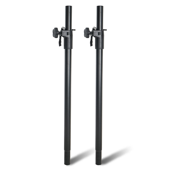 Sound Town STSDA-50B Pair of Subwoofer Speaker Poles with Adjustable Height and Safety Pins