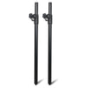 Sound Town STSDA-M54B Pair of Subwoofer Speaker Poles with Adjustable Height and M20 Thread