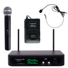 SWM10-U2 Series <br/>Professional Dual-Channel UHF Wireless Microphone System, for Church, Business Meeting, Outdoor Wedding and Karaoke