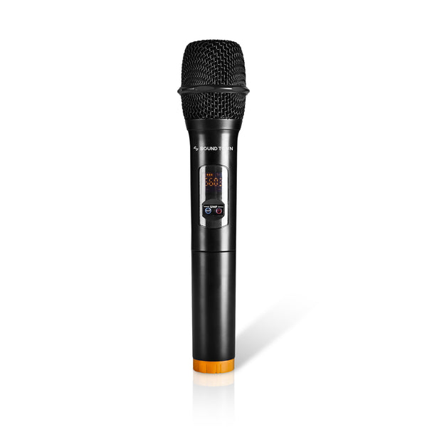 Sound Town SWM15-HH Handheld Microphone Replacement Parts for SWM15-PRO Karaoke Receiver System - Channel A