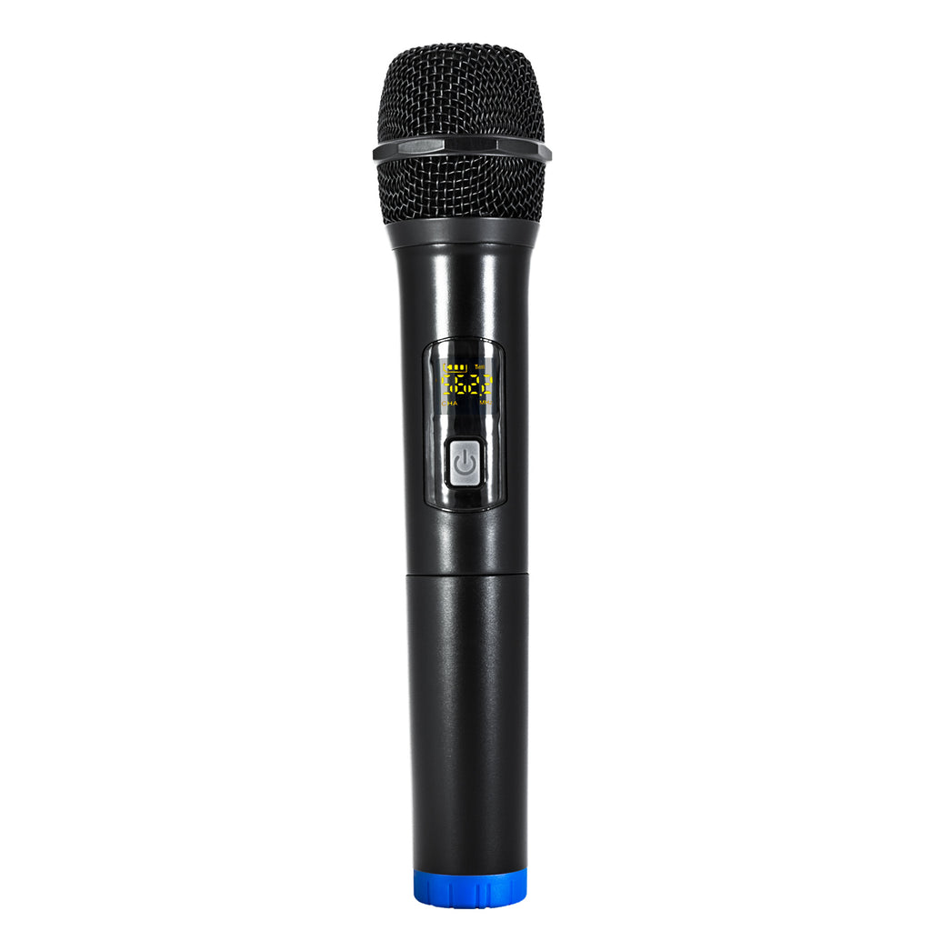 SWM15-HHS Single-Button Handheld Microphone for SWM15 & SWM16 Series Wireless Microphone Systems - Blue