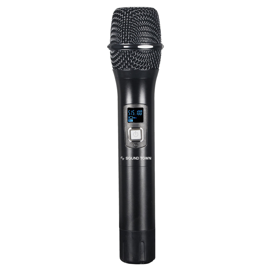 Sound Town SWM26-HH Handheld Microphone Replacement for SWM26-U2 Series Wireless Microphone Systems