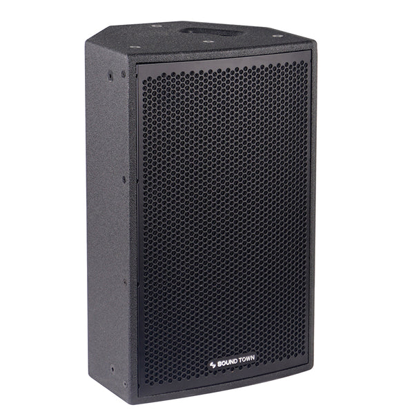 "CARME-108B <br/> CARME Series 8"" 350W 2-Way Professional PA DJ Monitor Speaker, Black w/ Compression Driver for Installation, Live Sound, Karaoke, Bar, Church"