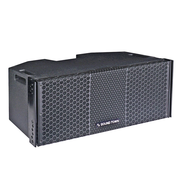 "ZETHUS Series 2 X 8"" Line Array Loudspeaker System with Titanium Compression Driver (ZETHUS-208)"