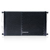 "Sound Town ZETHUS-110 ZETHUS Series 10"" Two-Way Passive Line Array Loudspeaker System with Titanium Compression Driver, Black - Front Panel"