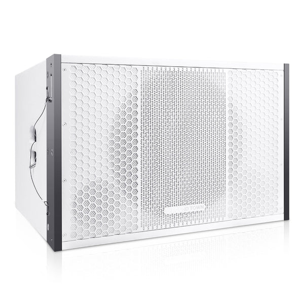 "Sound Town ZETHUS-115SW ZETHUS Series 15"" 1000W Passive Line Array Subwoofer, White for Live Sound, Stage, Clubs, Churches and Schools - Right Panel"