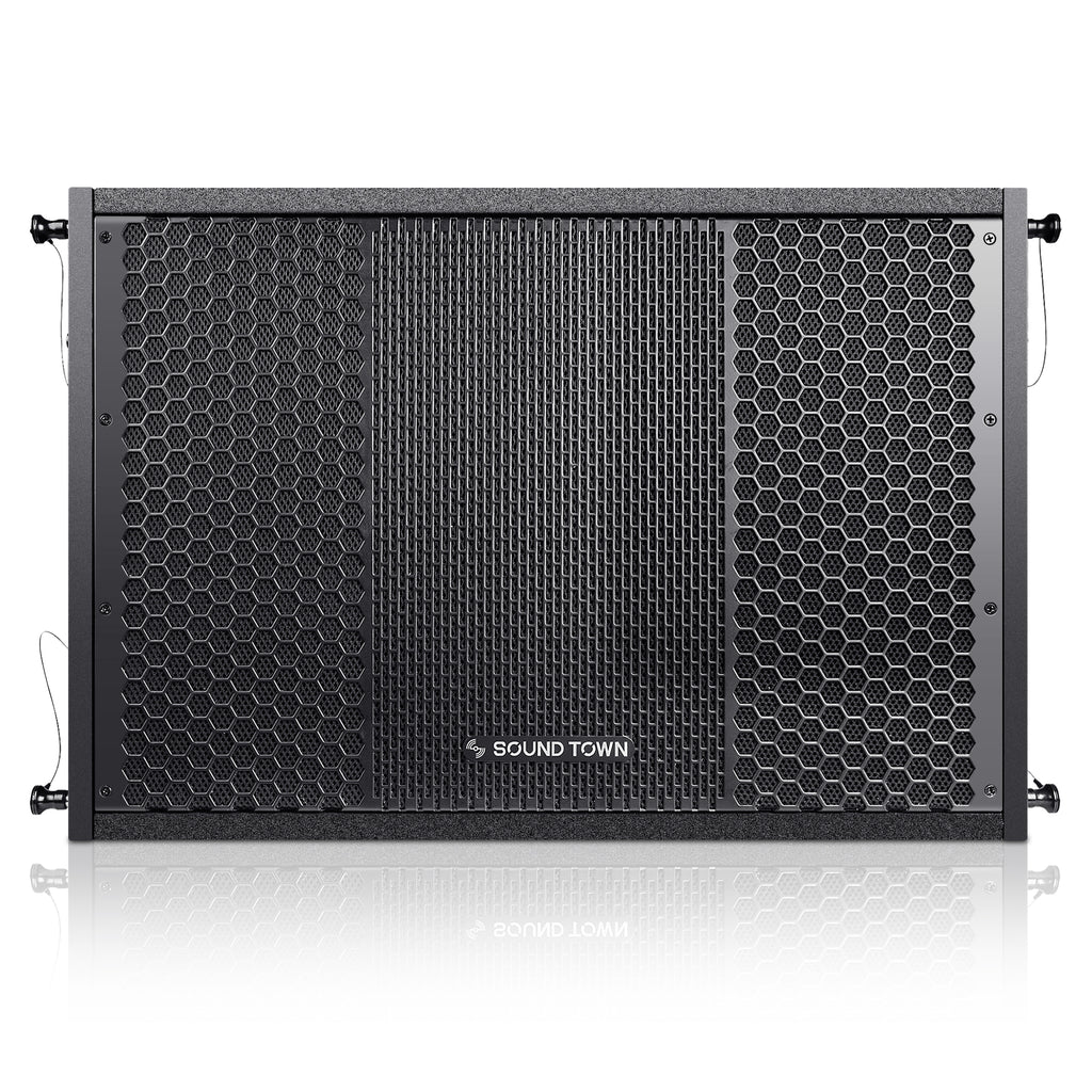 "ZETHUS-115S ZETHUS Series 15"" 1000W Passive Line Array Subwoofer - Front Panel"