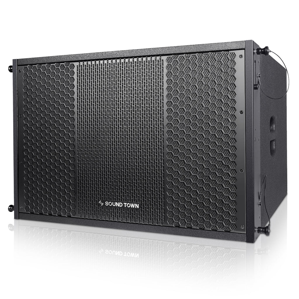 "ZETHUS-115S ZETHUS Series 15"" 1000W Passive Line Array Subwoofer - Left Panel"