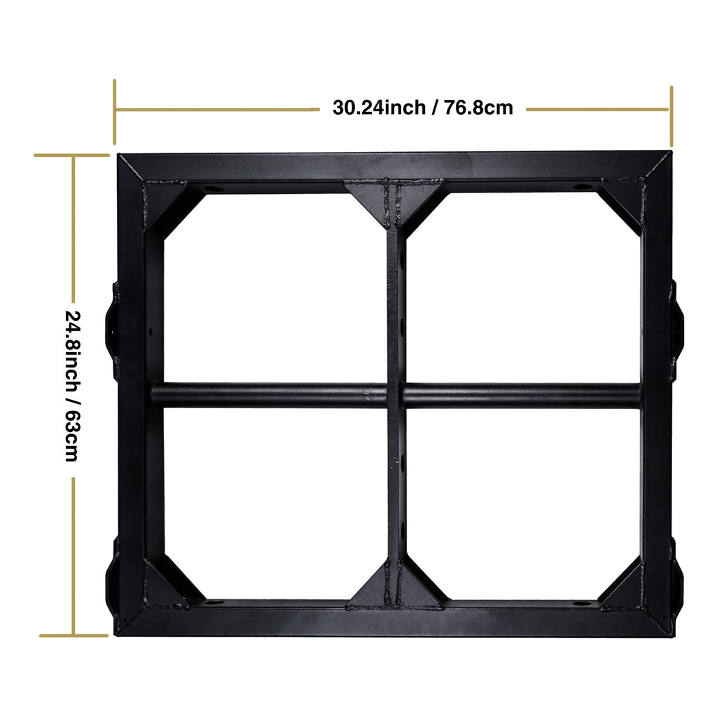 Sound Town ZETHUS-210FF ZETHUS Series Mounting Frame for Suspending ZETHUS-210B Line Array Speaker - dimensions